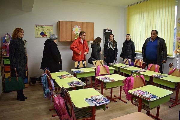 """Inaugurarea Centrului de zi """"Sfântul Martin"""" din Ioaniș"""